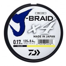 DAIWA J-BRAID X4 YELLOW 135M