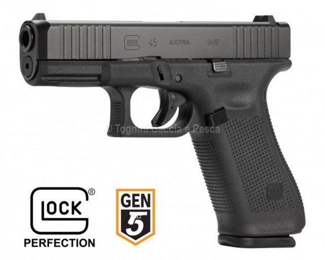 Glock G45 Fs Sport Cal9x21 Imi Pistole Semiautomatiche