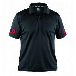 DAIWA POLO SHIRT 51019 BLACK
