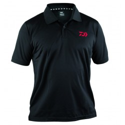 DAIWA POLO SHIRT 51119 BLACK
