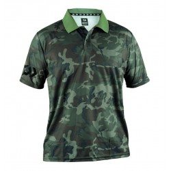 DAIWA POLO SHIRT 51019 GREEN CAMO