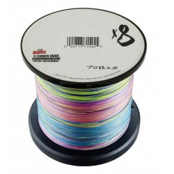 SUFIX X8 CARRIER BRAID MULTICOLOR 1000M.