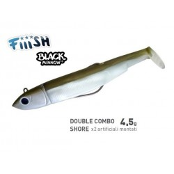 FIIISH BLACK MINNOW 70 DOUBLE COMBO SEARCH 4.5G.