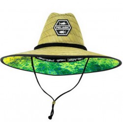 PELAGIC BAJA STRAW HAT DORADO HEX GREEN
