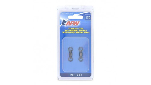 AMERICAN FISHING WIRE STAINLESS STEEL BALL-BEARINGS SWIVELS