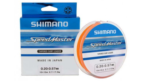 SHIMANO SPEEDMASTER TAPERED LEADER