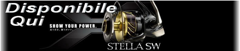 Disponibile New Shimano Stella SWB
