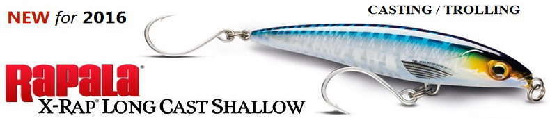 RAPALA X-RAP LONG CAST SHALLOW