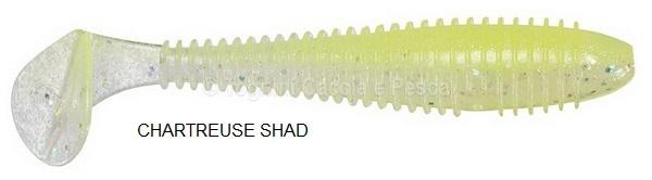 KEITECH SWING IMPACT FAT 3.8'' CHARTREUSE SHAD