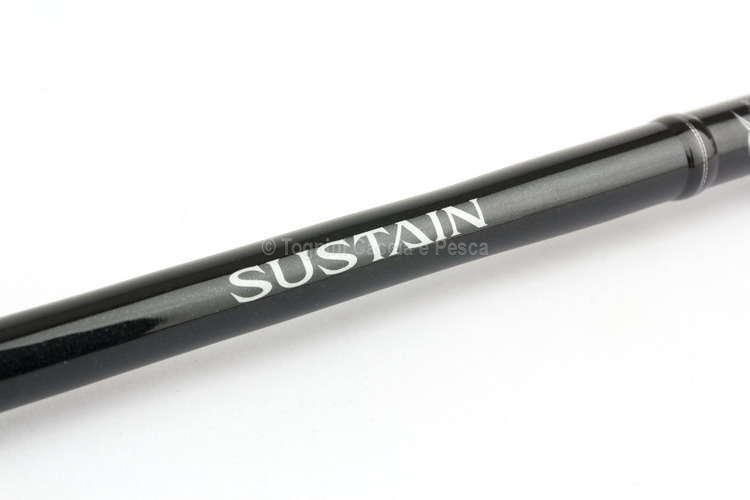 Shimano Sustain Ax Spinning Canna Spinning Pesca Mare Fiume Lago Artificiali