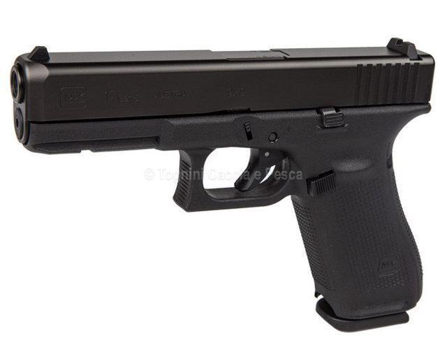 Glock 17 Gen 5 Cal9x21 Pistole Semiautomatiche Tognini Caccia